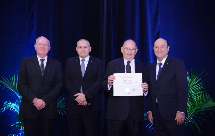 Arthur Dula, Member of the Social Science section of the IAA on October 20, 2019 in Washington DC, USA