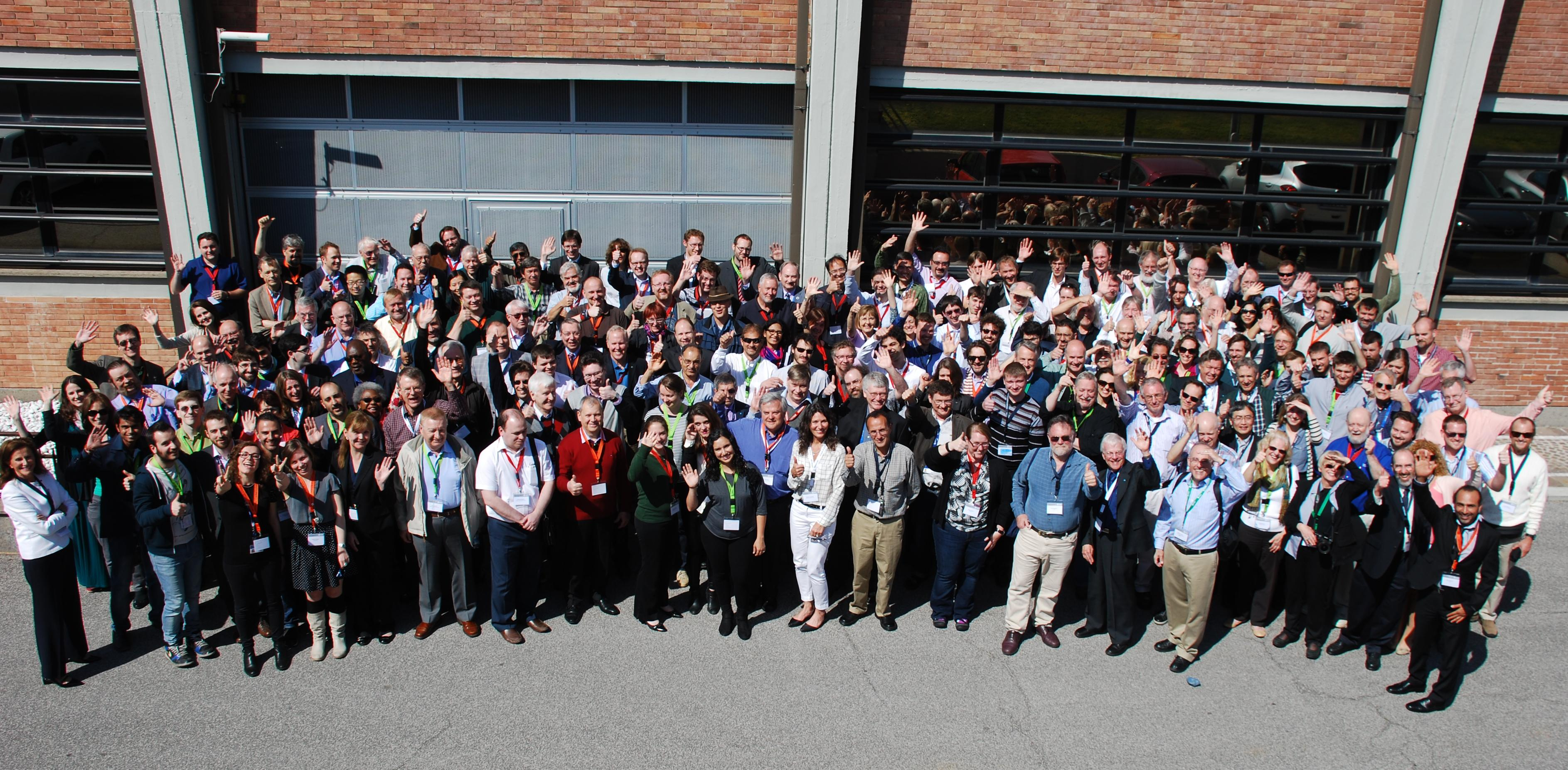 PDC 2015 participants in Frascati, Italy